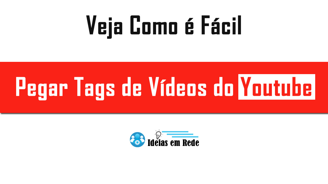 Como pegar tags de vídeos do youtube